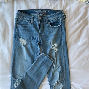 Ripped jeans from ae